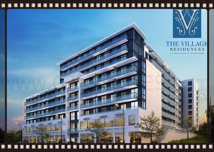 The Village Residences at 591 Sheppard Avenue East, North York, Ontario M2K 1B4, Canada